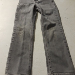 Place est 1989 girls skinny straight gray jeans